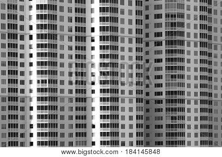 Black and white square pattern symmetrical  pattern
