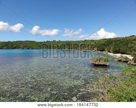 Punta Diablo) Devil's Point, Tinian, Northern Mariana Islands Amazing coastal view at Puntan Diablo, Tinian