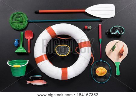 Objects Associated With The Seaside