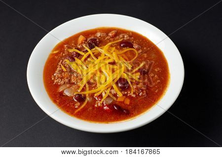 Chili Con Carne. Mexican Food. Mexican Cuisine.