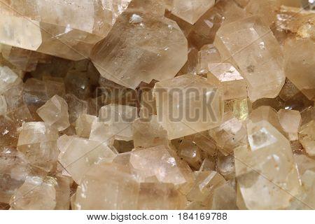Calcite Mineral Texture