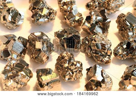 Pyrite Mineral Texture