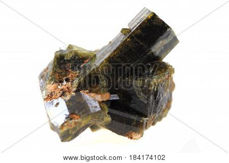 Epidote Mineral Isolated