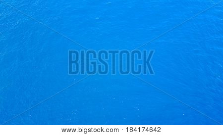 Abstract ocean background which can be used to add text Sea surface aerial view - Boost up color Processing.
