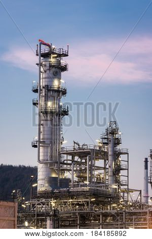 Oil Gas Refinery Factory