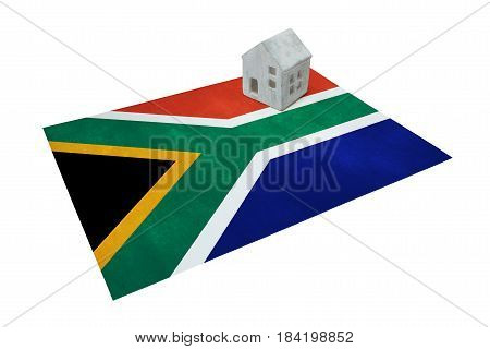 Small House On A Flag - South Africa