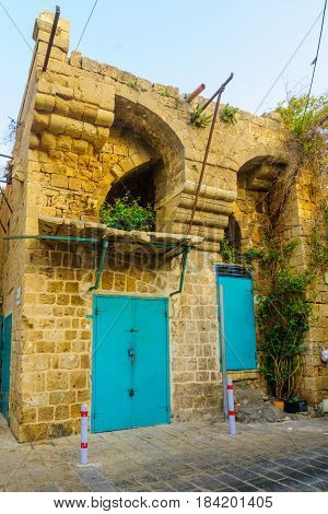 Ottoman Building In The Old City Of Acre (akko)