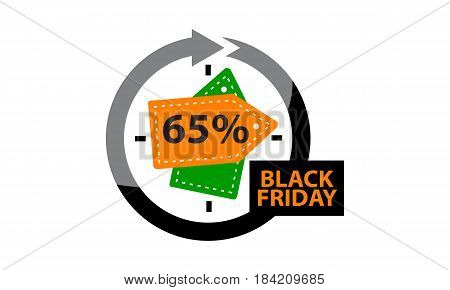 This image describe about Black Friday Discount 65 %
