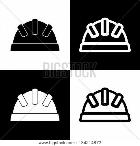 Baby sign illustration. Vector. Black and white icons and line icon on chess board.