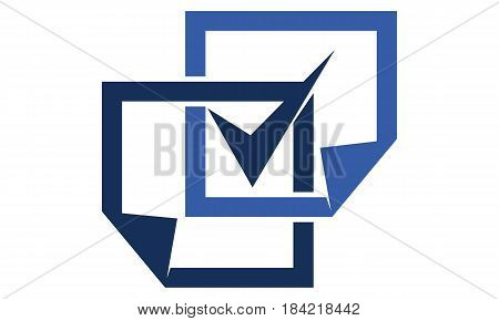 This image describe about Document verified Logo