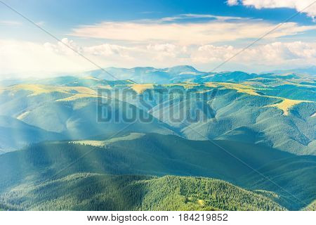 Landscape With Green Hills