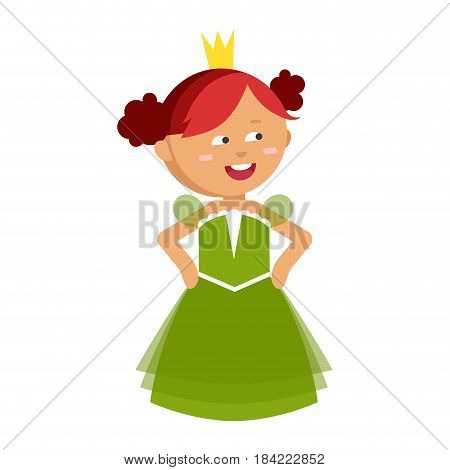 Princesses vector cute beautiful characters. Adorable elegance style little fairy red hair girl. Old  sc 1 st  Bigstock & Princesses Vector Vector u0026 Photo (Free Trial) | Bigstock