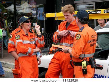 State Emergency Service guys