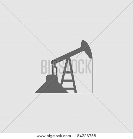 oil well icon - vector eps 10