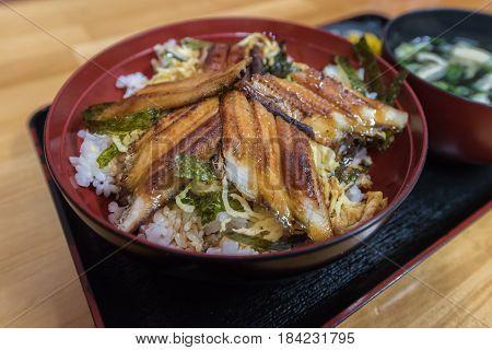 Unagi Kabayaki, Grilled Freshwater Eel With Sweet Soy Sauce