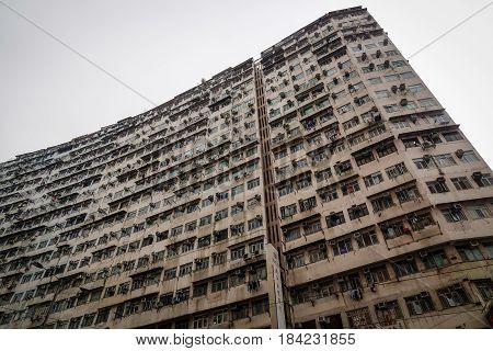 Old Apartment In Hong Kong