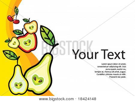 Template for any fresh food related business