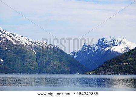 View At Sognefjord, Norway