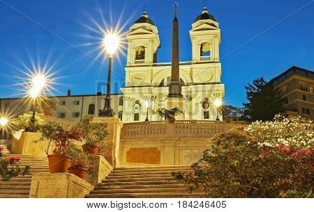 The Spanish Steps and