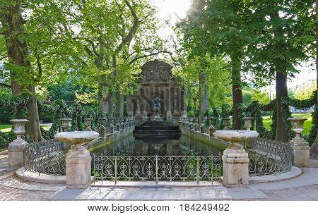 Fontaine de Medicis, Jardin du Luxembourg, Paris, France.