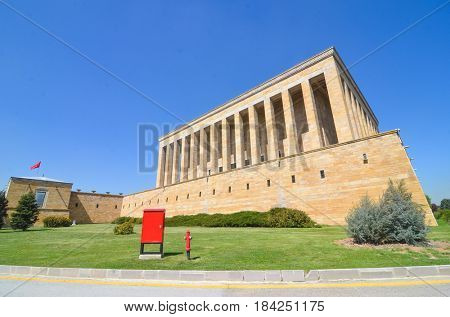 Anitkabir, Mausoleum of Ataturk - Ankara, Turkey