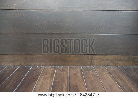 Brown wood texture. Abstract background empty template for copy space