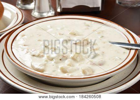 Chunky Clam Chowder
