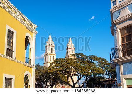Cathedral And Colonial Architecture