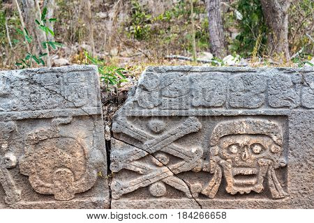 Faces In Uxmal