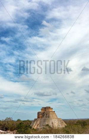 Uxmal And Dramatic Sky