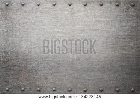 old metal background 3d illustration