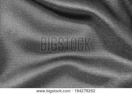 Real Synthetic Fiber Textile Background For Designers.