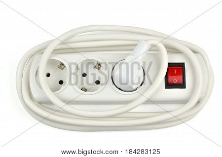 Extension Cable On White
