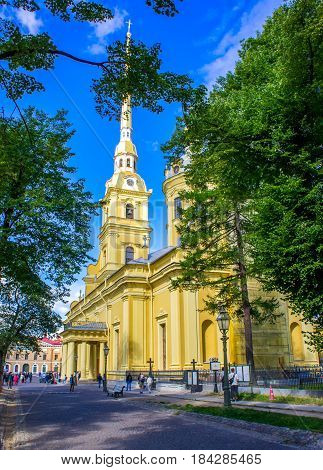 saint peter and paul cathedral (st petersburg russia)