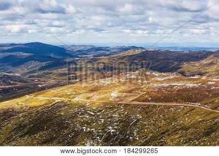 Mount Kousciuszko Summit Trail Landscape. New South Wales, Australia
