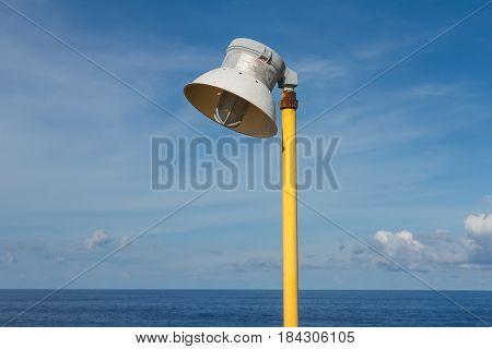 lighting industrial in sea offshorelighting for working platform