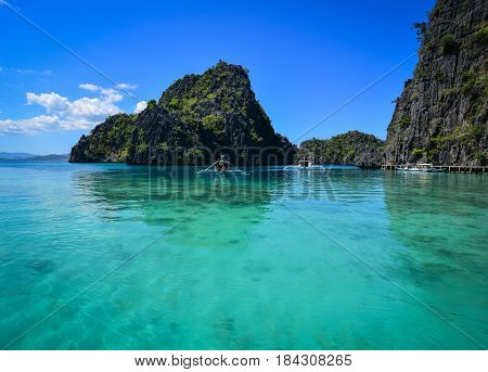 Landscape Of Tropical Sea In Summer