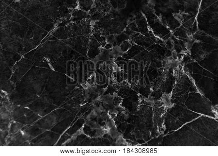 Close up of natural marble patterned texture background, Abstract natural marble black and white for your design art work.