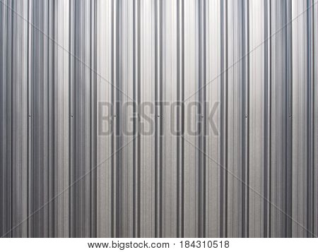 Photo of steel sheet roof abstract bavkground