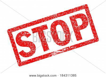 stop rubble stamp sign. stop stamp on white background.
