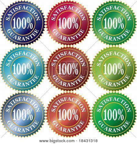 Sign 100% Satisfacion Garantee