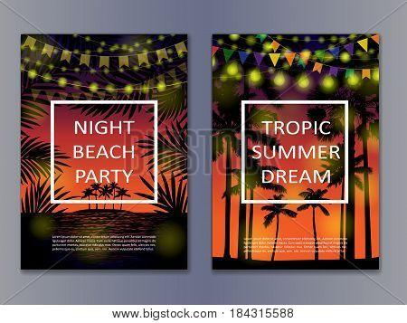 Tropic Posters Mock Up