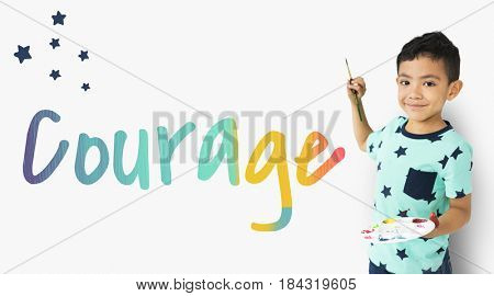 Inspiration Courage Liberty Passion Words