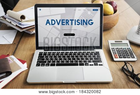 Advertising Commercial Digital Marketing Word
