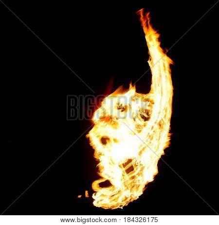 Night Performance Burning Man