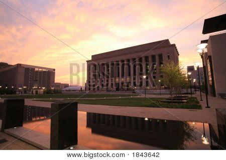 Court Reflecting Pond