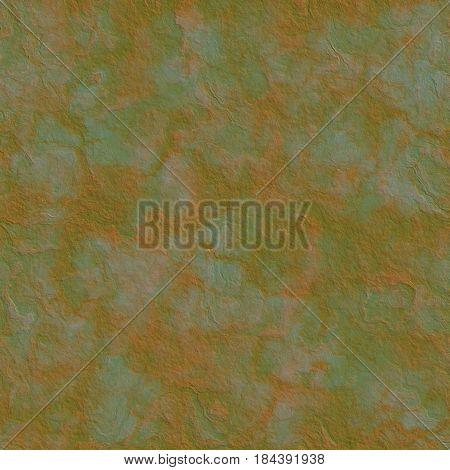 corroded metal texture generated. Seamless pattern. Digital illustration.