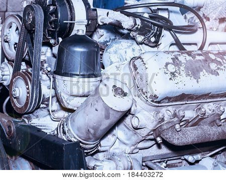 Diesel Engine Of Internal Combustion,