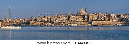 Valletta, the capital of Malta
