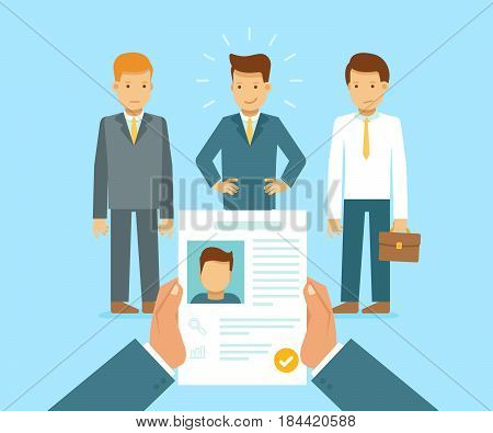 Human Resources And Employment Concept